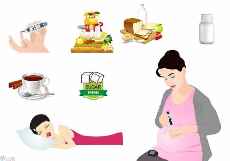 علاج سكر الحمل