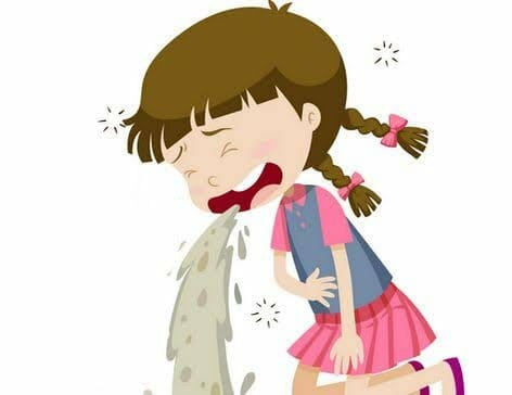 القئ لدى الأطفال - الأنواع والأسباب والعلاج 2